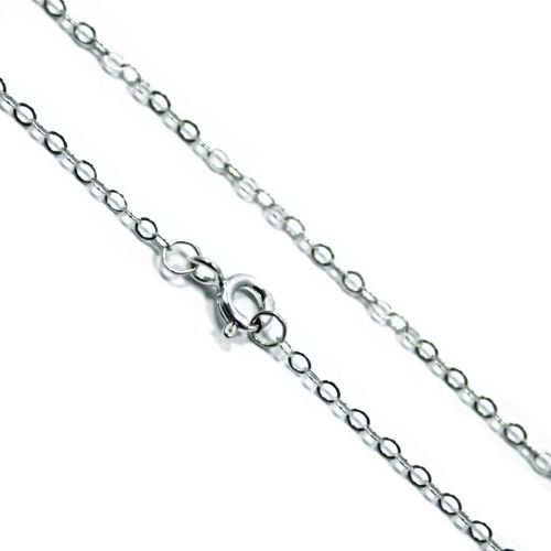 Italian Sterling Silver Trace Chain 1.5mm